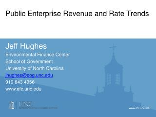 Public Enterprise Revenue and Rate Trends