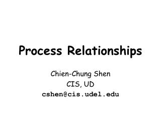 Process Relationships