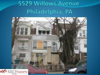 5529 Willows Avenue   Philadelphia, PA