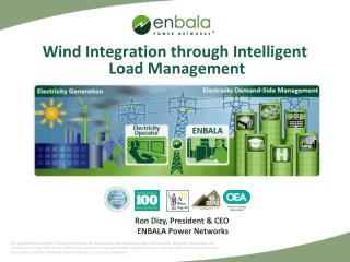 Wind Integration through Intelligent  Load Management