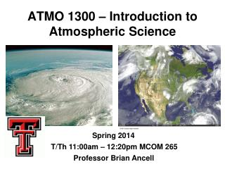 ATMO 1300 – Introduction to Atmospheric Science