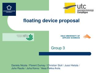 floating device proposal