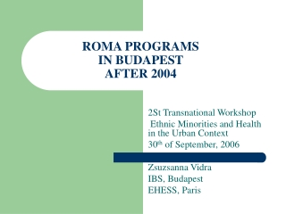EU educational  cultural programs