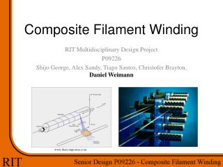 Composite Filament Winding