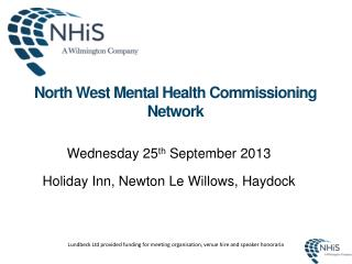 North West Mental Health Commissioning Network