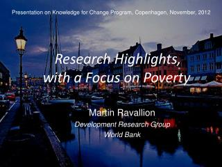 Research Highlights, with a Focus on Poverty