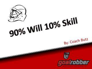 By: Coach Butz
