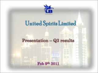 United  Spirits Limited