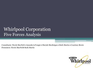 Whirlpool Corporation Five Forces Analysis