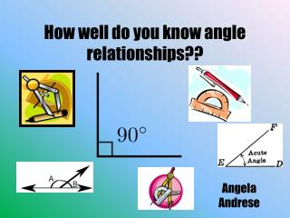 How well do you know angle relationships??