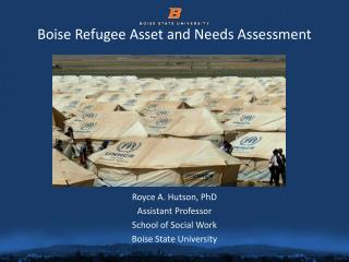 Boise Refugee Asset and Needs Assessment
