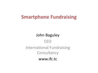 Smartphone Fundraising