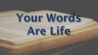 Your Words  Are  Life