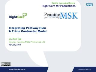 Integrating Pathway  Hub:  A Prime Contractor Model