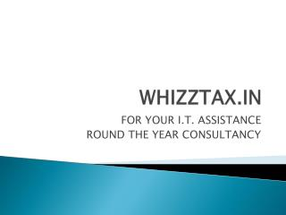 WHIZZTAX.IN