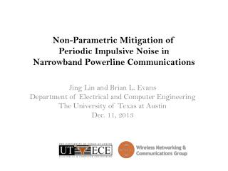 Non-Parametric Mitigation of  Periodic Impulsive  Noise  in  Narrowband  Powerline  Communications