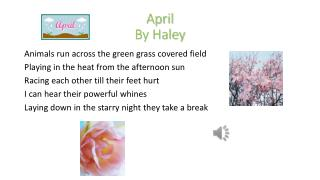 April By Haley