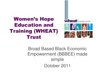 Women's Hope Education and Training (WHEAT) Trust