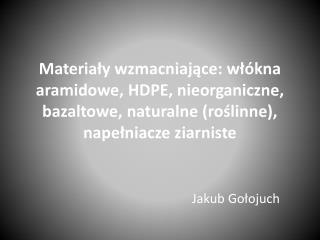 Jakub  Gołojuch