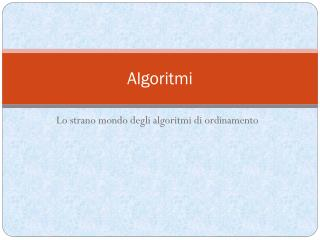 Algoritmi
