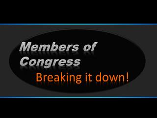 Members of Congress