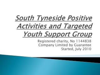 South Tyneside Positive Activities and Targeted Youth Support Group