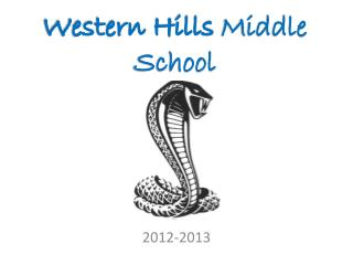 Western Hills  Middle School