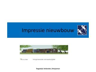 Impressie nieuwbouw