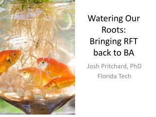 Watering Our Roots: Bringing RFT back to BA