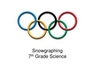 Snowgraphing 7 th  Grade Science