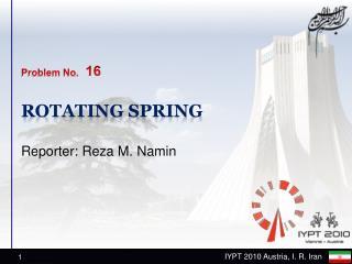 Rotating spring