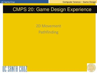 2D Movement Pathfinding
