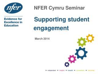 NFER  Cymru  Seminar