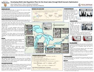Developing Multi-Lake Regulation Plans for the Great Lakes through Multi-Scenario Optimization