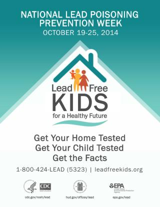 NATIONAL LEAD POISONING