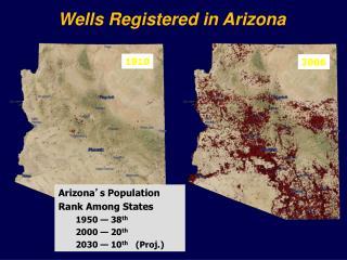 Wells Registered in Arizona