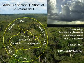 Molecular Science  Questions of GoAmazon2014