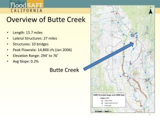 Overview of Butte Creek