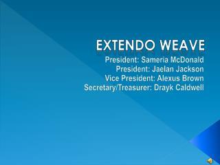 Extendo  Weave