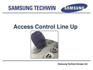 Access Control Line Up