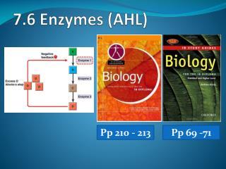 7.6  Enzymes (AHL)
