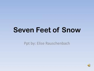 Seven Feet of Snow