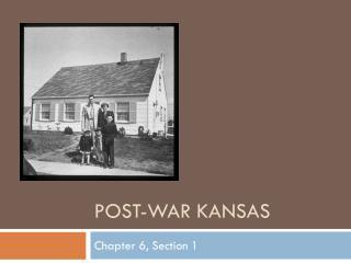 Post-War Kansas