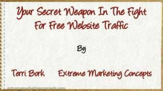 ppt 40136 Your Secret Weapon In The Fight For Free Website Traffic