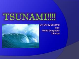Tsunami!!!!
