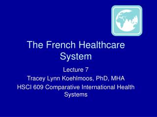 The French Healthcare System