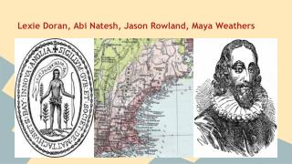 Lexie Doran, Abi Natesh, Jason Rowland, Maya Weathers