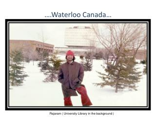 �.Waterloo Canada�