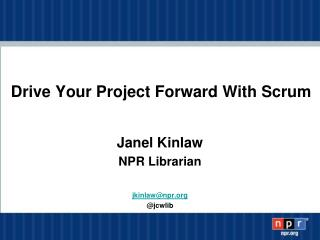 Drive Your Project Forward With Scrum