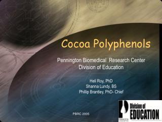 Cocoa Polyphenols